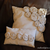 Rosette Pillows, Round 2