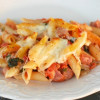 Penne Pasta with Smoked Sausage