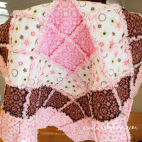Best Step by Step Baby Rag Quilt Tutorial