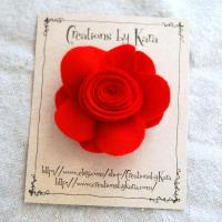 Felt Flower Tutorial for Valentine's Day