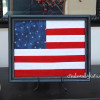 Fourth of July Craft {Framed Flag Tutorial}