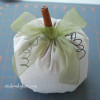 Easy Fabric Pumpkins {Tutorial}
