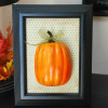 Fall Decor-Framed Pumpkin
