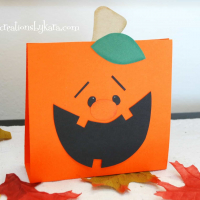 Pumpkin Treat Bag Tutorial {Halloween}
