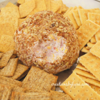 Ranch and Ham Cheese Ball