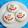 Snowman Cookies {Sugar Cookie Recipe}