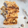 Chocolate Chip Caramel Oatmeal Bars