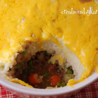 Mashed Potato Beef Casserole