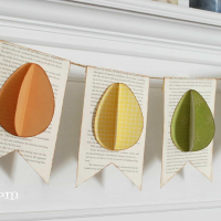 Easter Craft- Easy Easter Egg Banner