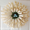 Interchangeable Book Page Wreath
