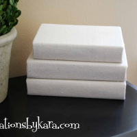 How To Cover a Book With Fabric {Decorating}