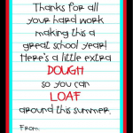Teacher Appreciation Idea {Free Printable}