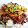 Black Bean Salsa Chicken