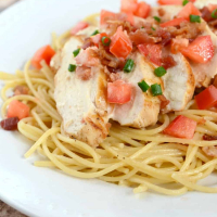 Lemon Chicken and Pasta with Bacon Recipe