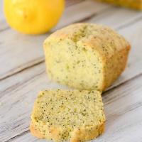Lemon Poppy Seed Zucchini Bread