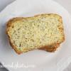 Lemon Poppy Seed Zucchini Bread