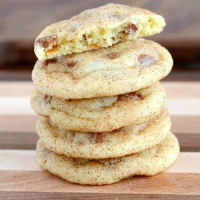 Double Cinnamon Snickerdoodle Cookies