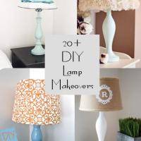 20 DIY Lamp Makeovers