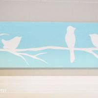 DIY Reverse Stencil Wood Sign {Tutorial}