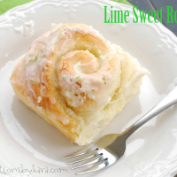 Lime Sweet Rolls Recipe