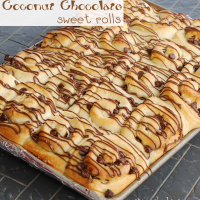 Sweet Roll Recipe: Coconut Chocolate Rolls