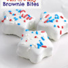 4th of July Brownie Bites