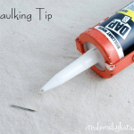 DIY Caulking Tip