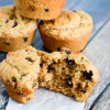 Chocolate Chip Peanut Butter Muffins