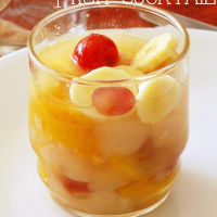 Thanksgiving Tradition: Homemade Fruit Cocktail