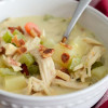 Creamy Chicken Soup with Bacon and Ranch