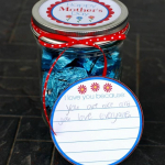 Dove® Chocolate Mother's Day Gift Jar {With Printable Notes}