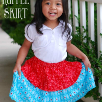 Tiny Ruffle Skirt Tutorial