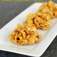 No-Bake Caramel Cornflake Cookies