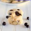 Chocolate Blueberry Cream Cheese Cookies
