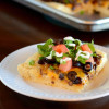 Taco Pizza with Olives from Spain