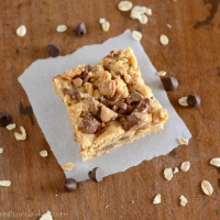 Reese's Peanut Butter Oat Bars Recipe