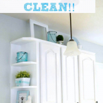 Cleaning Tip: How To Keep the Tops of Your Cabinets Clean
