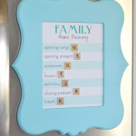 How to Make a Magnet Board with Cut it Out Frames