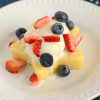 Lemon Berry 4th of July Dessert