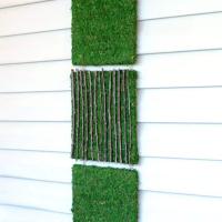 DIY Moss Art: Outdoor Decor