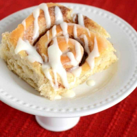 Cake Mix Cinnamon Rolls