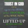 Ponderize- Trust in God
