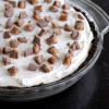 No-Bake Chocolate Caramel Cream Pie