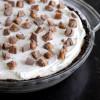 No-Bake Chocolate Caramel Cream Pie