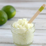 Homemade Lime Sugar Scrub