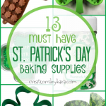 Fun St. Patricks Day Baking and Party Supplies