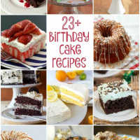 23+ Birthday Cake Recipes Worth Celebrating