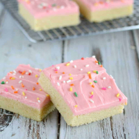 Best Ever Sugar Cookie Bars Recipe