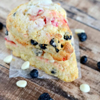 Cherry Blueberry Scones Recipe (for July 4th)