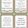Free Printable Gratitude Christmas Gift Tags - Light the World